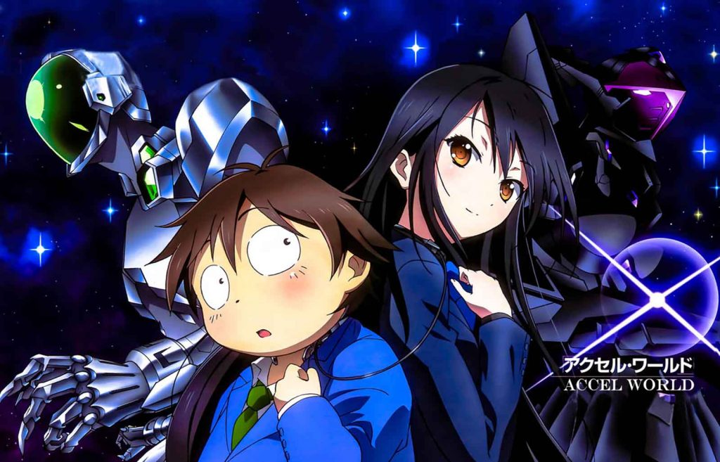 Accel World opening ending creditless