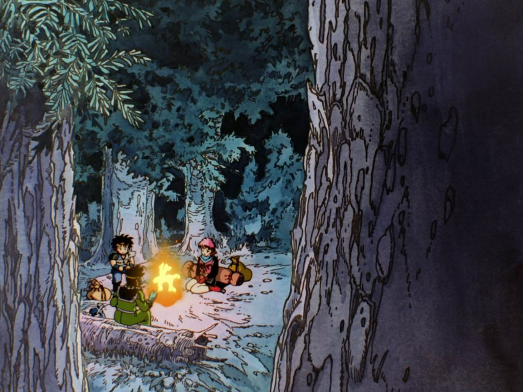 dragon quest ending creditless