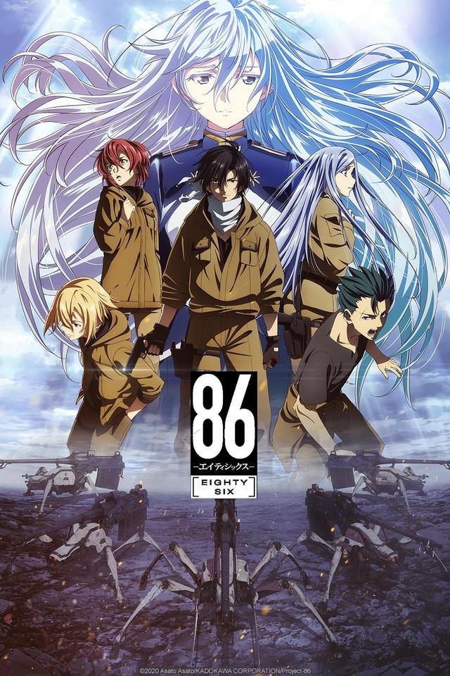 anime 86 eighty six sub español